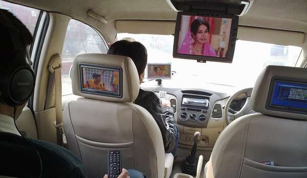 Как подключить автомобильный телевизор своими руками