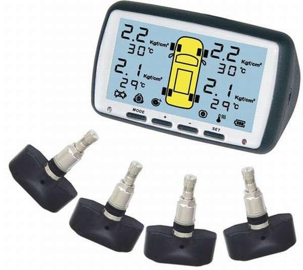 Обзор про датчики давления в шинах Тойота