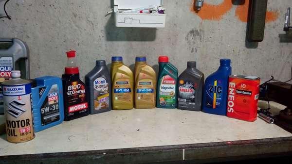 Выбор моторного масла