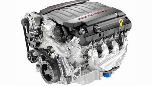 ДвигательChevrolet Corvette C7 Stingray