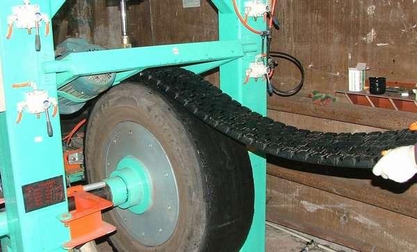 Наварка протектора шин