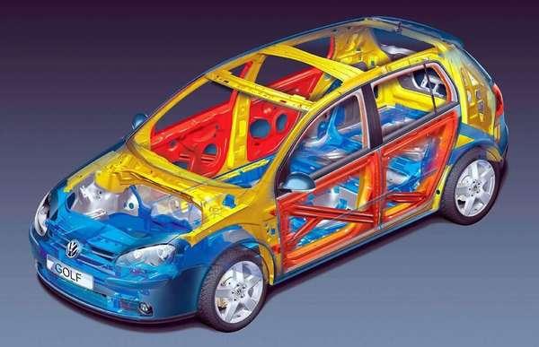 Несущая конструкция автомобиля