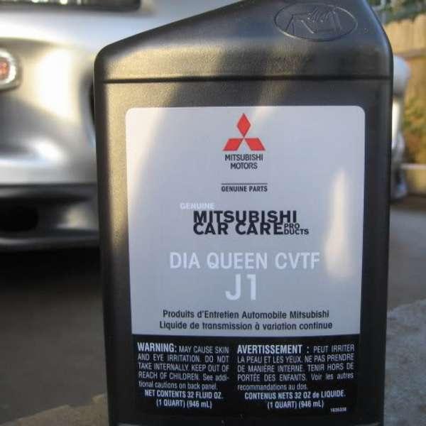 Как правильно заменить масло в вариаторе Mitsubishi Outlander?