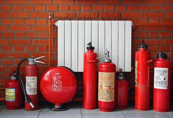 Из огнетушителей выбирают порошковые или углекислотные