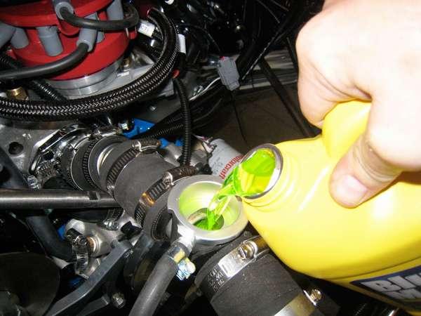 Утечка тосола в двигатель