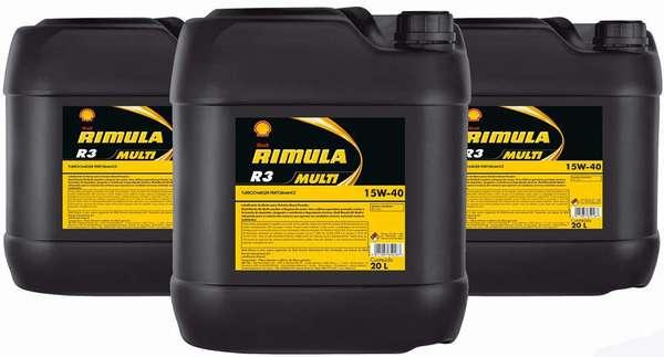 Shell Rimula R3 Multi