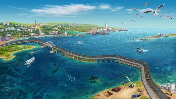 Крымский автомобильный мост