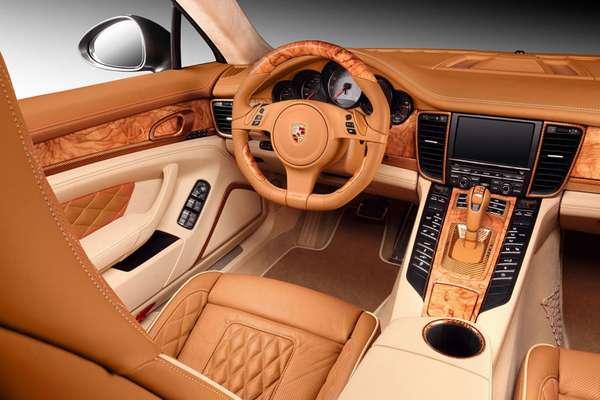 Внутренний стиль автомобиля