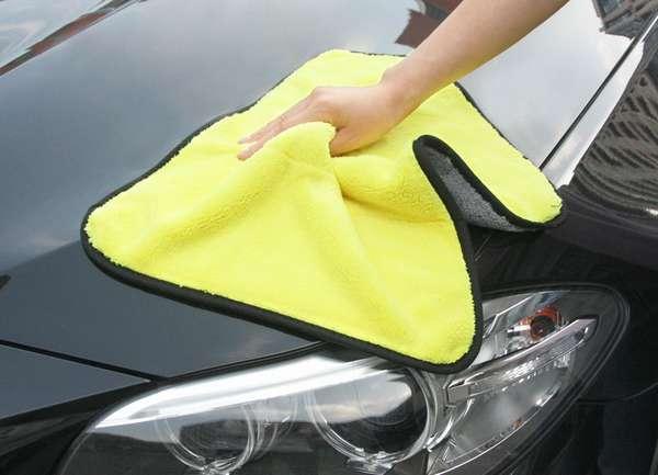 Тряпки для мойки, протирки и полировки автомобиля
