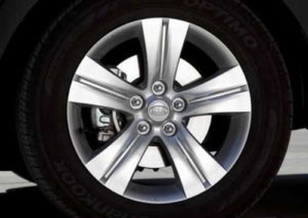 Размеры и характеристики шин для автомобилей Киа