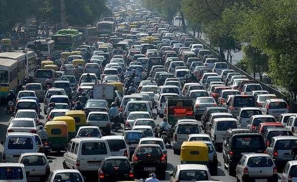 Причины автомобильных пробок