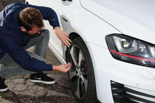 Диагностика состояния шин для автомобиля