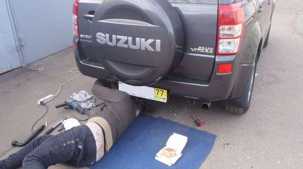 Установка антистатика на машину