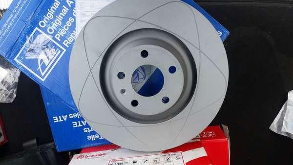 Тормозной диск ATE