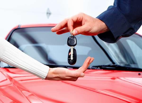 Передача ключей новому хозяину авто