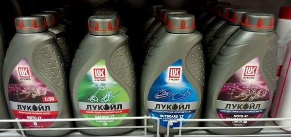 Ассортимент продукции Лукойл