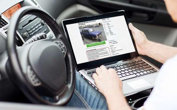 Подача объявления о продаже машины