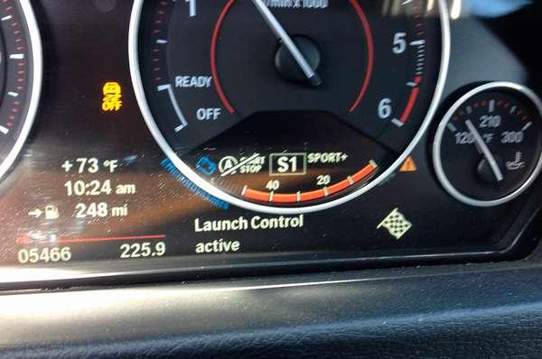 Launch Control в машине