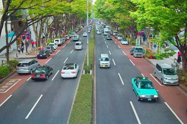 В каких странах левостороннее движение на дорогах
