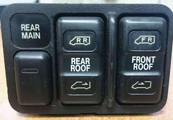 Управление лючком машины