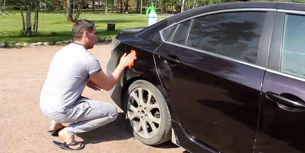 Помыть авто без воды