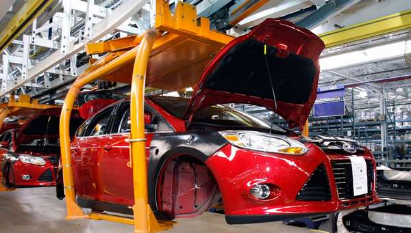 Где производят автомобили Ford