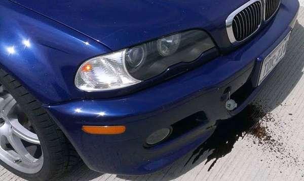 Что может вытекать из автомобиля