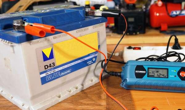 Зарядка аккумулятора постоянным током