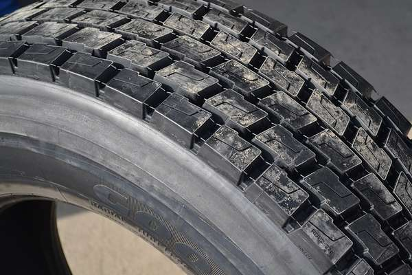 Вид восстановленных шин