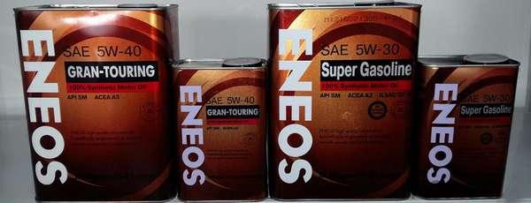 Особенности масла Eneos 5W-40