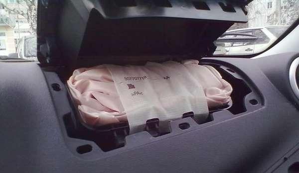 Как отключить подушку безопасности пассажира