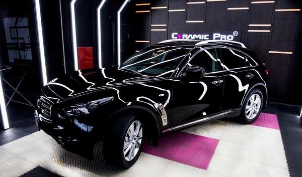 Автомобиль покрытый нанокерамикой