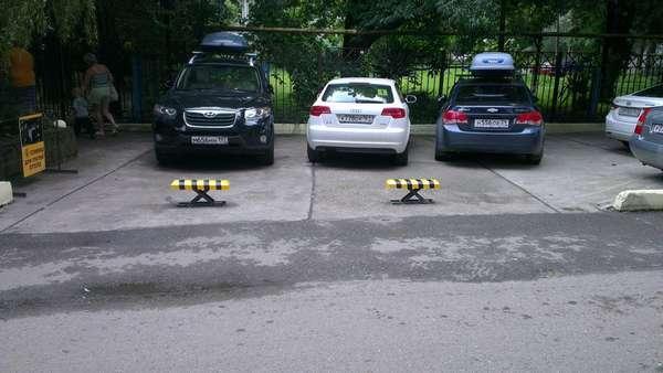 Автоматические парковочные барьеры