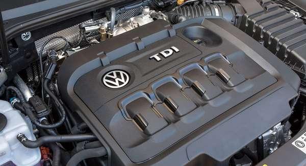 Дизельный двигатель TDI