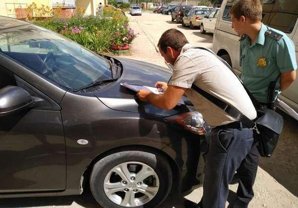 Эксплуатация автомобиля в аресте