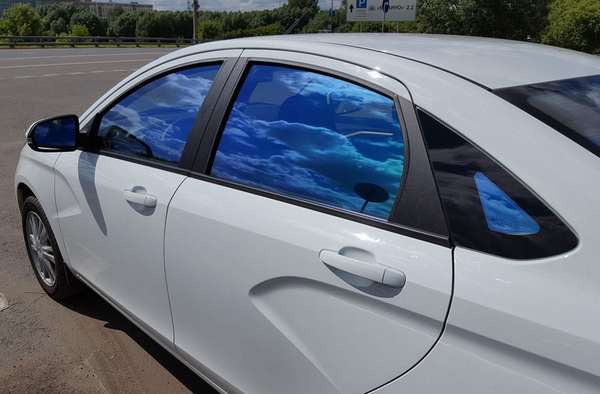 Смарт тонировка стекла автомобиля