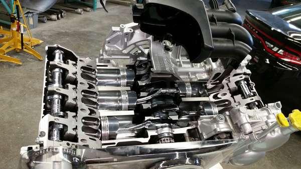 Ремонт оппозитного двигателя