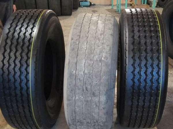 Стара и восстановленные шины