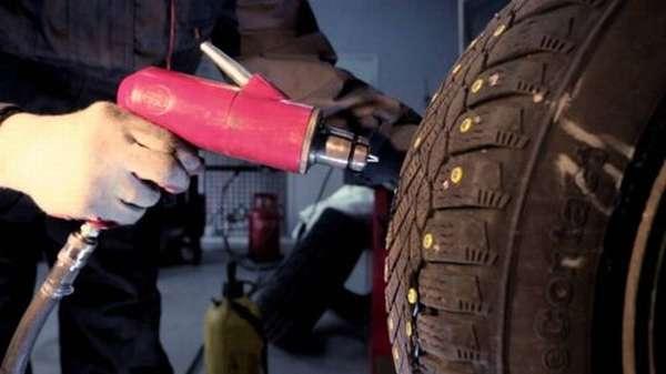 Виды и характеристики шипов для шиповки шин