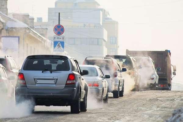 Вредные выбросы в атмосферу автомобиля