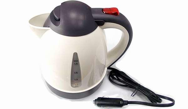 Как выбрать чайник в автомобиль работающий от прикуривателя