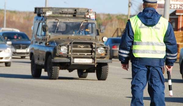 Причины остановки транспортного средства сотрудниками ДПС