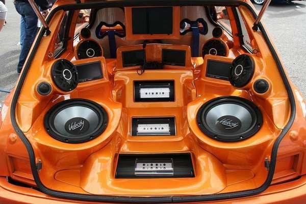 Аудио тюнинг автомобилей