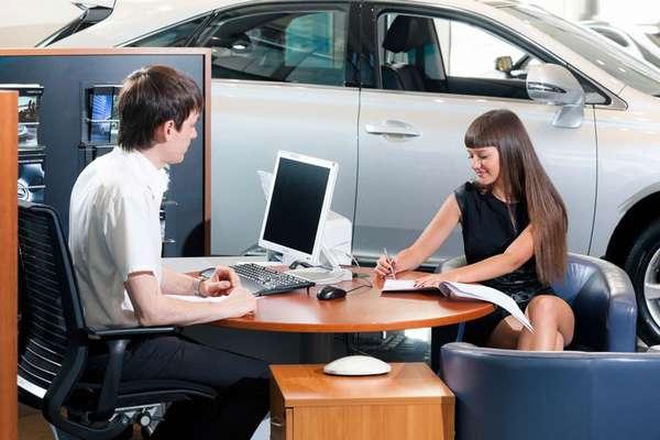 Оформление документов в автосалоне