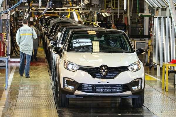 Где производят автомобили Renault