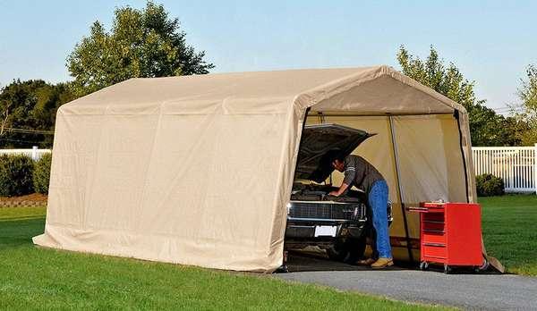 Как выбрать переносной гараж для автомобиля