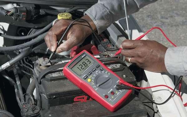 Проверка проводки в машине мультиметром